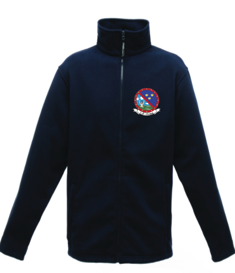 Fleece with Crest