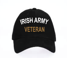 Irish Army Veteran Baseball Cap