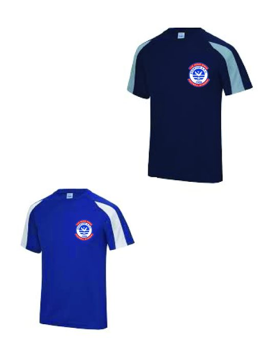 Everton AFC Kids Sports T Contrast