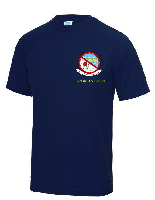 Sports Tee with Crest-01
